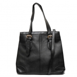 Double buckle tote