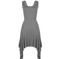 Grey Jaggered dress