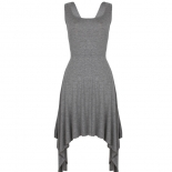 Grey Jaggered dress