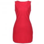 Plain Structured Dress