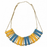 Colourful Panel Necklace