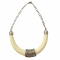 Ivory Tribal Necklace