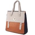 Colourblock satchel