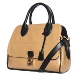 Black Trim Bucket Bag