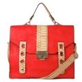 Square satchel
