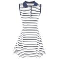 Stripe polo dress