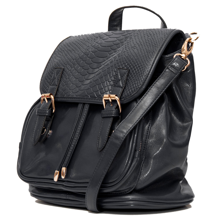 Zipper Pocket Backpack